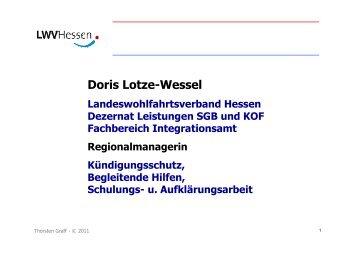 Frau Lotze-Wessel, LWV Hessen