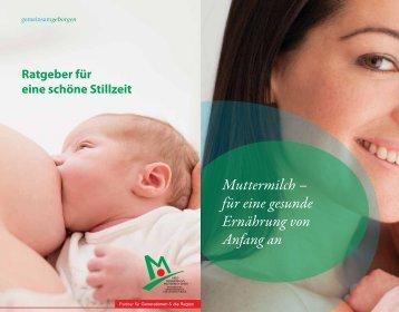 Muttermilch - Kreiskrankenhaus Mechernich