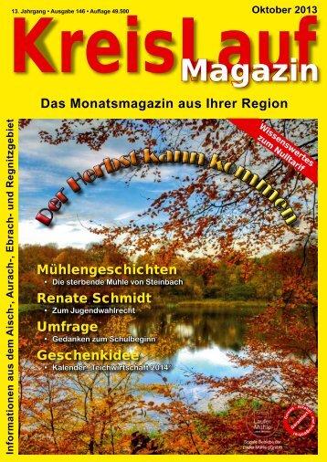 KreisLauf-Magazin Ausgabe Oktober 2013