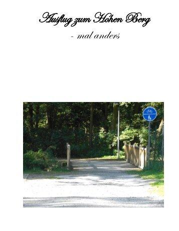 Ausflug zum Hohen Berg - mal anders - Kreismuseum Syke