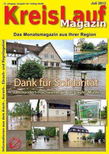 Dank für Solidarität - KreisLauf Magazin