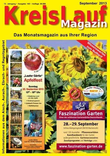 KreisLauf-Magazin Ausgabe September 2013