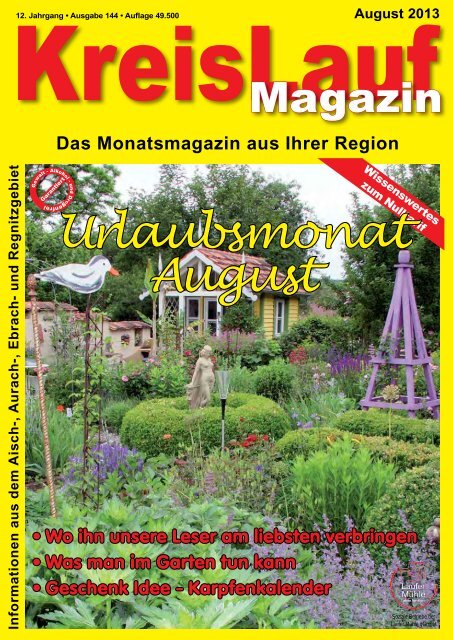 KreisLauf-Magazin Ausgabe August 2013