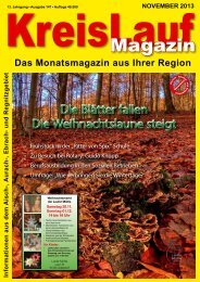 KreisLauf-Magazin Ausgabe November 2013