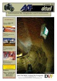 "1. Quartalswettbewerb 2011 Thema: ""Rost"" - AKF"