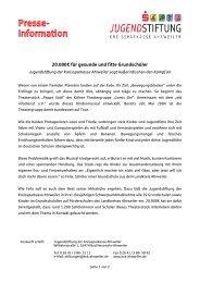 Pressemitteilung Auftaktveranstaltung - Kreissparkasse Ahrweiler