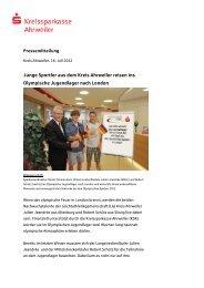 Junge Sportler aus dem Kreis Ahrweiler reisen ins Olympische ...