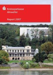 Report 2007 s Kreissparkasse Ahrweiler