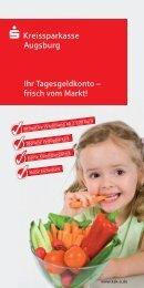 flyer tagesgeldkonto 2012.indd - Kreissparkasse Augsburg