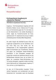 Deutscher Meister - Kreissparkasse Augsburg