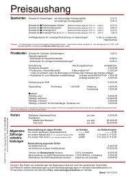 Fassung PSD 15 04 13 - Kreissparkasse Kelheim
