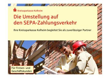 SEPA - Kreissparkasse Kelheim