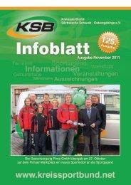 Ausgabe November 2011 - Kreissportbund Sächsische Schweiz ...
