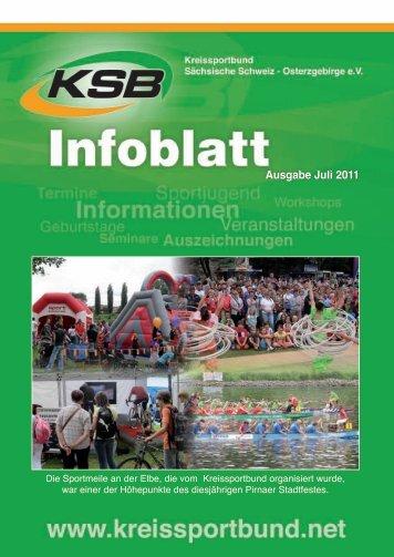 Ausgabe Juli 2011 - Kreissportbund Sächsische Schweiz ...