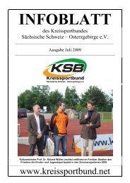 Ausgabe Juli 2009 - Kreissportbund Sächsische Schweiz ...