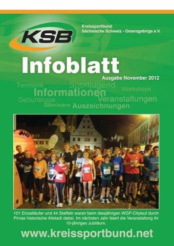 Ausgabe November 2012 - Kreissportbund Sächsische Schweiz ...