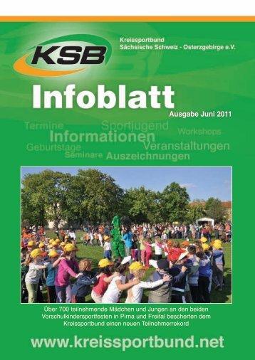 Ausgabe Juni 2011 - Kreissportbund Sächsische Schweiz ...