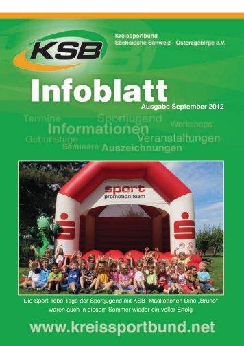 Ausgabe September 2012 - Kreissportbund Sächsische Schweiz ...