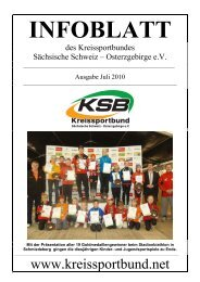 Ausgabe Juli 2010 - Kreissportbund Sächsische Schweiz ...