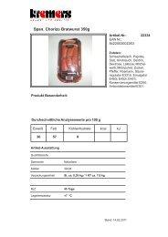 Span. Chorizo Bratwurst 350g