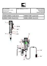 POMPE AIRMIX®, modèle 20-25 AIRMIX® PUMP ... - Kremlin-Lips AG