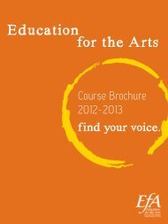 Education for the Arts - Kalamazoo Regional Educational Service ...