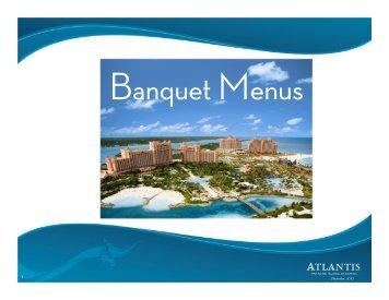 Food and Beverage - Atlantis