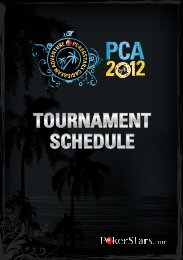 TournamenT Schedule - Atlantis