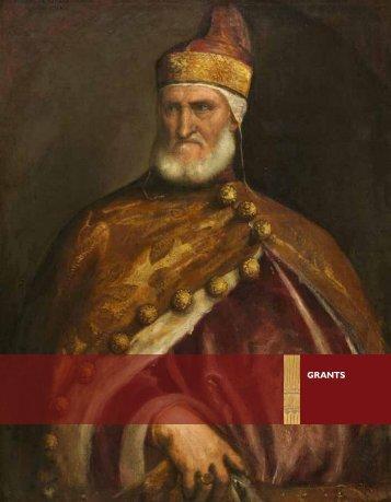 Download Grants PDF - Samuel H. Kress Foundation