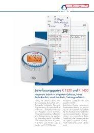K 1400 - KRETSCHMER Informationselektronik GmbH