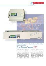 ETC 2005-07.qxd - Bürk Mobatime GmbH