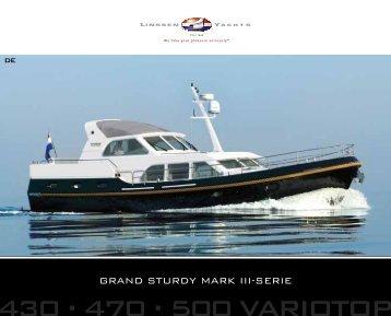 Grand Sturdy Mark III series brochure - Linssen Yachts