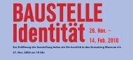 28. Nov. — 14. Feb. 2010 - Kreuzberg Museum