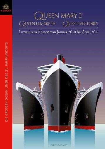 Cunard - Kreuzfahren.ch