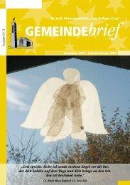 Gemeindebrief Ausgabe 1/2013 - Ev.-Luth. Kirchengemeinde .Zum ...