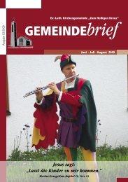 Gemeindebrief Ausgabe 3/2009 - Ev.-Luth. Kirchengemeinde .Zum ...