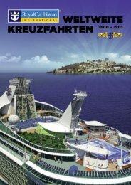 Weltweite Kreuzfahrten 2010 - 2011 - Kreuzfahren.ch