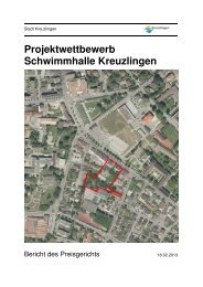 Bericht des Preisgerichts - Kreuzlingen