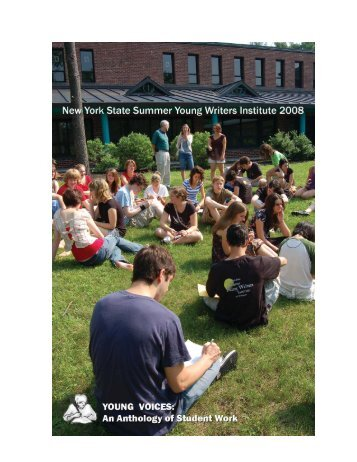 Summer Young Writers Anthology - University at Albany