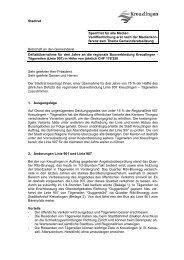 Botschaft Defizitübernahme der regionalen ... - Kreuzlingen
