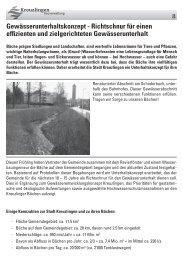 Gewässer brauchen Unterhalt - Kreuzlingen