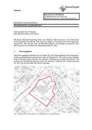 Zonenplanänderung Abendfrieden - Kreuzlingen