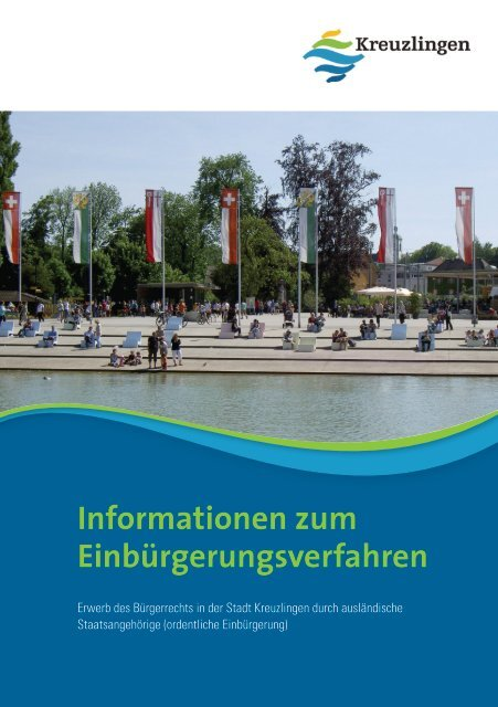 Informationen zum Einbürgerungsverfahren - Kreuzlingen