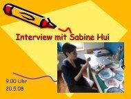 Interview mit Sabine Hui - Kreuzlingen