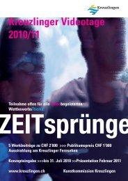 Kreuzlinger Videotage 2010/11 ZEITsprünge - Kreuzlingen