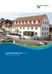 Jahresbericht 2010 | der Stadt Kreuzlingen