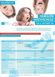 FAMILIEN HOCHSCHULE - Kreuzlingen