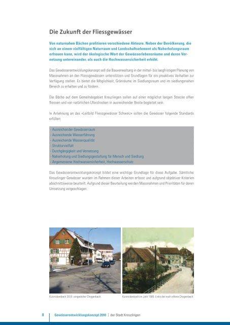 Gewässerentwicklungskonzept - Kreuzlingen