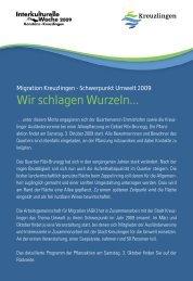 A5_Flyer_Wir schlagen Wurzeln-doppel.indd - Kreuzlingen