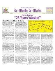 """25 Years Wasted"" Le Monde de Merde - Krewe du Vieux"